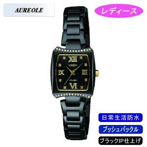 【AUREOLE】オレオールレディース腕時計SW-498L-1アナログ表示日常生活用防水/1点入り(き)
