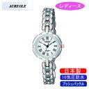 【AUREOLE】オレオール レディース腕時計 SW-496L-D アナログ表示 10気圧防水 日本製 /10点入り(代引き不可)【送料無料】