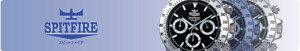 【SPITFIRE】スピットファイアメンズ腕時計SF-908M-1アナログ表示24時間表示付10気圧防水/10点入り(き)
