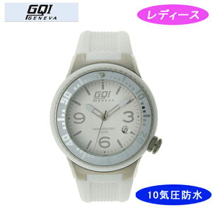 【GQIGENEVA】ジェネバレディース腕時計GQ-112-3アナログ表示10気圧防水/1点入り(き)