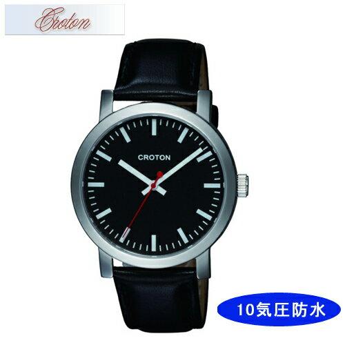 【CROTON】クロトン メンズ腕時計 RT-159M-1 アナログ表示 10気圧防水 /10点入り(代引き不可)【S1】:VANCL