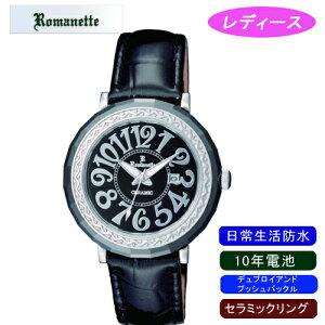 【ROMANETTE】ロマネッティレディース腕時計RE-3522L-1アナログ表示10年電池日常生活用防水/10点入り(き)
