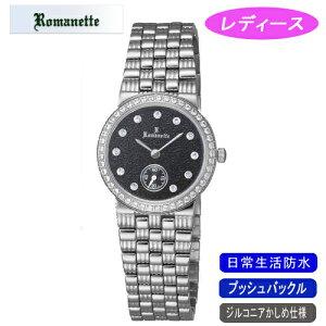 【ROMANETTE】ロマネッティレディース腕時計RE-3517L-1アナログ表示スイス製ムーブ日常生活用防水/10点入り(き)