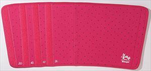 4STEPビューティシェイパー 太もも用 ピンク&ブラックドット/48点入り(代引き不可):VANCL