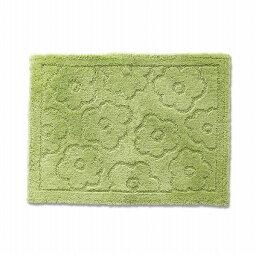 バスマット 乾度良好 サニー 吸水 抗菌 防臭 グリーン 約50×70cm (代引不可)