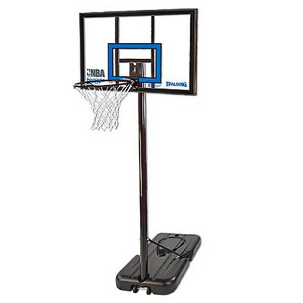 バスケットゴール 屋外用 SPALDING スポルティング ハイライト アクリル ポータブル バスケットゴール 77455CN(代引不可):VANCL
