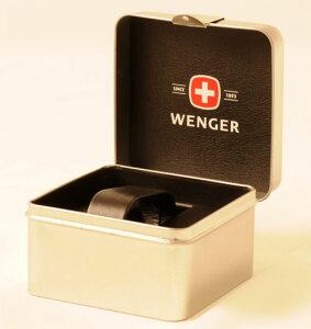 WENGERウェンガー腕時計WEN70475メンズALPINEブラック