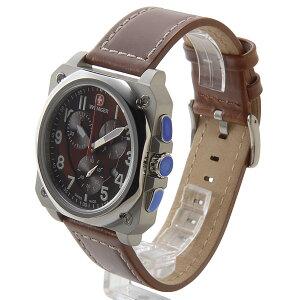 WENGERウェンガー腕時計WEN77014メンズエアログラフコクピットクロノブラウン