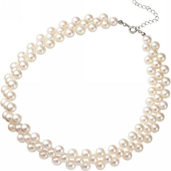 メゾン・ドゥ・ファミーユ あこや真珠ネックレス ホワイト MFN-500W MAISON DE(代引不可)【smtb-f】:VANCL