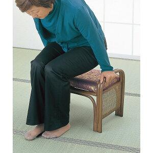 籐御仏前金襴座椅子H28C14()【送料無料】【smtb-f】