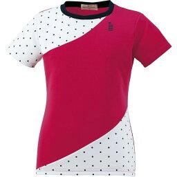 GOSEN(ゴーセン) T1609 レディースゲームシャツ T1609 【カラー】チェリー 【サイズ】LL【送料無料】