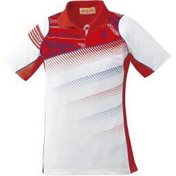 GOSEN(ゴーセン) T1611 レディースゲームシャツ T1611 【カラー】レッド 【サイズ】M