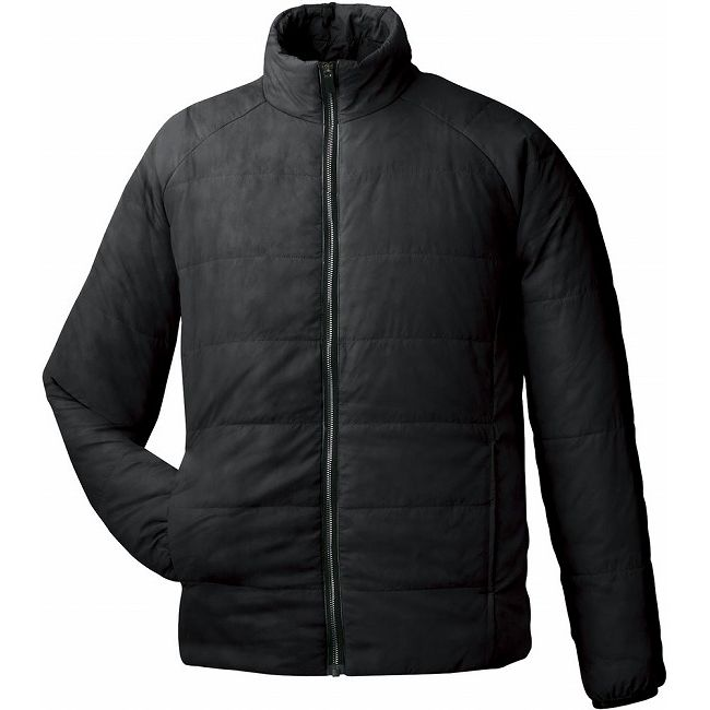GOSEN(ゴーセン) アイダーウォームスジャケット Y1612 【カラー】ブラック 【サイズ】M【送料無料】【smtb-f】