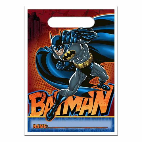 DCコミックス バットマン ルートバッグ トリートサック DC COMICS アメコミ ギフトバッグ ビニールバッグ 【Hallmark】