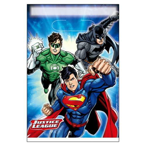 DCコミックス ジャスティス・リーグ ルートバッグ トリートサック JUSTICE LEAGUE DC COMICS アメコミ ギフトバッグ ビニールバッグ 【DesignWare】