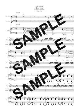 【ダウンロード楽譜】 Journey/RIP SLYME(ピアノ弾き語り譜 初級2)