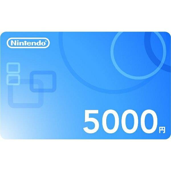 ニンテンドープリペイド番号 5000円 (ダウンロード版) ※500ポイントまでご利用可