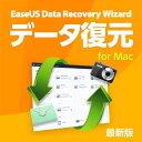 EaseUS Data Recovery Wizard for Mac 11 / 1ライセンス【データ復元/データの誤削除……