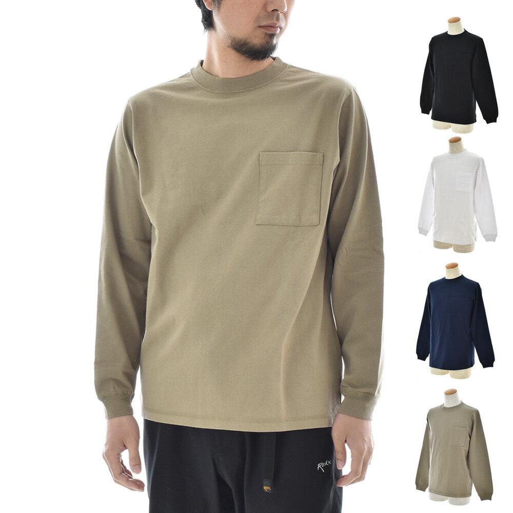 Goodwear ポケット付き 長袖Tシャツ