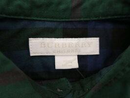 BURBERRY/バーバリー/子供服/トップス/男の子/チェック/ポケット【中古】