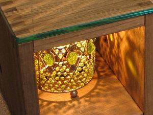 ヴァインガラストップローテーブル/Re-L(リエル)収納家具:ユニット・ボックス