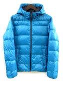 ユニクロ UNIQLO ダウン パーカー ジャケット キルティング ブルー 青 S 064857 メンズ 【中古】【ベクトル 古着】 170124 古着 買取&販売 ベクトルイズム