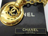 CHANELシャネル93Pココマークチェーンネックレスゴールドカラーレディース【ベクトル古着】【】151001