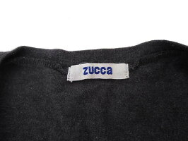 【中古】zuccaズッカ刺繍デザインノースリーブワンピースダークグレーレディース【ベクトル古着】190909ベクトルイズム