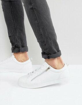 ブレーブソウル メンズ スニーカー シューズ Brave Soul Oscar Sneakers White