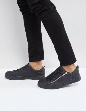 ブレーブソウル メンズ スニーカー シューズ Brave Soul Oscar Sneakers In Black Black
