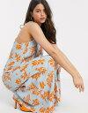 ワイエーエス レディース ワンピース トップス Y.A.S V neck maxi dress in floral print Multi