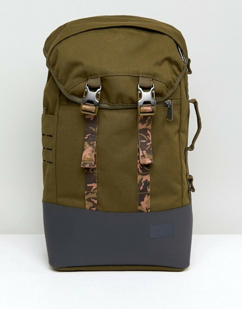 1a86cfad37de イーストパック メンズ バックパック・リュックサック バッグ Eastpak Bust Backpack in Camo 20L Green 送料無料  サイズ交換無料 イーストパック メンズ バッグ ...