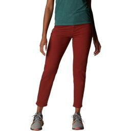 マウンテンハードウェア レディース カジュアルパンツ ボトムス Twill Ankle Jean - Women's Rusted