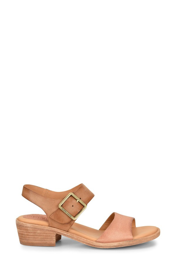 コーク レディース サンダル シューズ Kork-Ease Myakka Sandal (Women) Blush/ Light Brown Leather