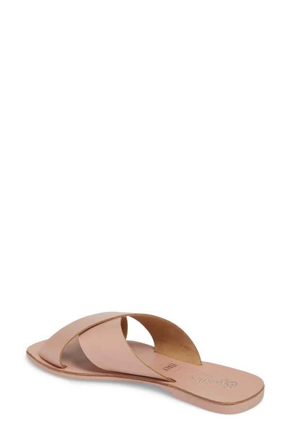 セイシェルズ レディース サンダル シューズ Seychelles Total Relaxation Slide Sandal (Women) Pink Leather