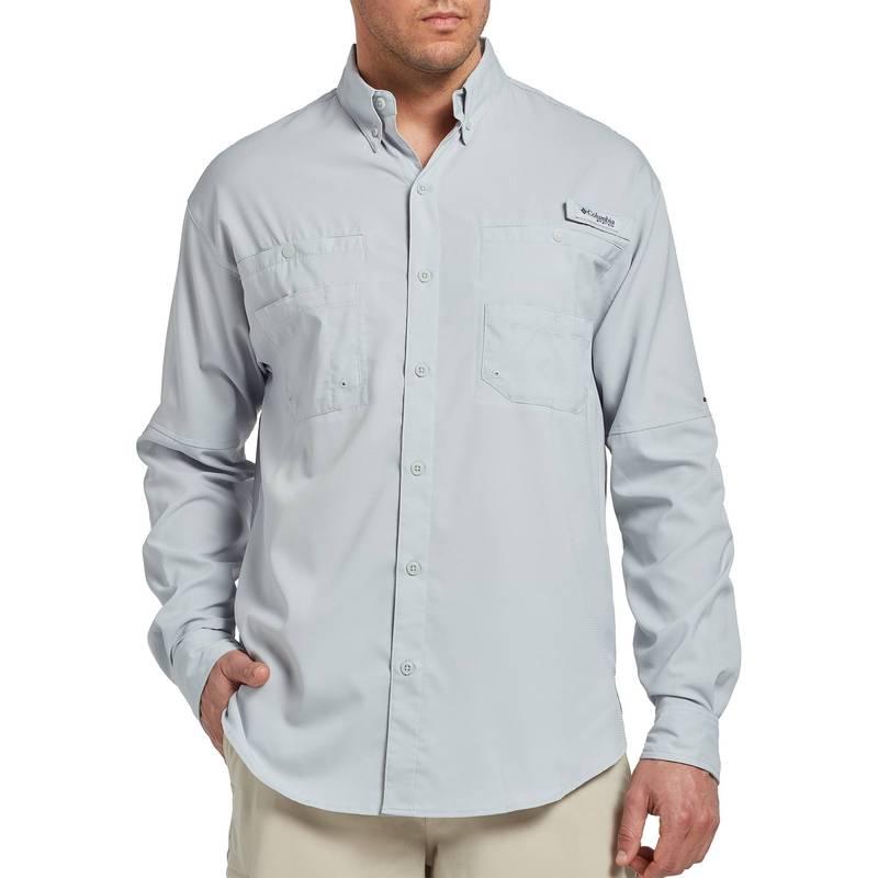 トップス, カジュアルシャツ  Columbia Mens Tamiami II Long Sleeve Shirt (Regular and Big Tall) Cool Grey