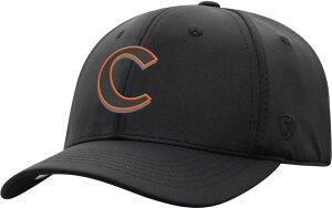 トップオブザワールド メンズ 帽子 アクセサリー Top of the World Men's Clemson Tigers Phenom-Bob 1Fit Flex Black Hat
