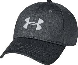 アンダーアーマー メンズ 帽子 アクセサリー Under Armour Men's Twist Adjustable Hat Pitch Gray