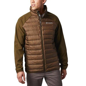 コロンビア メンズ ジャケット・ブルゾン アウター Columbia Men's Lake 22 Hybrid Down Jacket Olive Green Heather/Olive Green