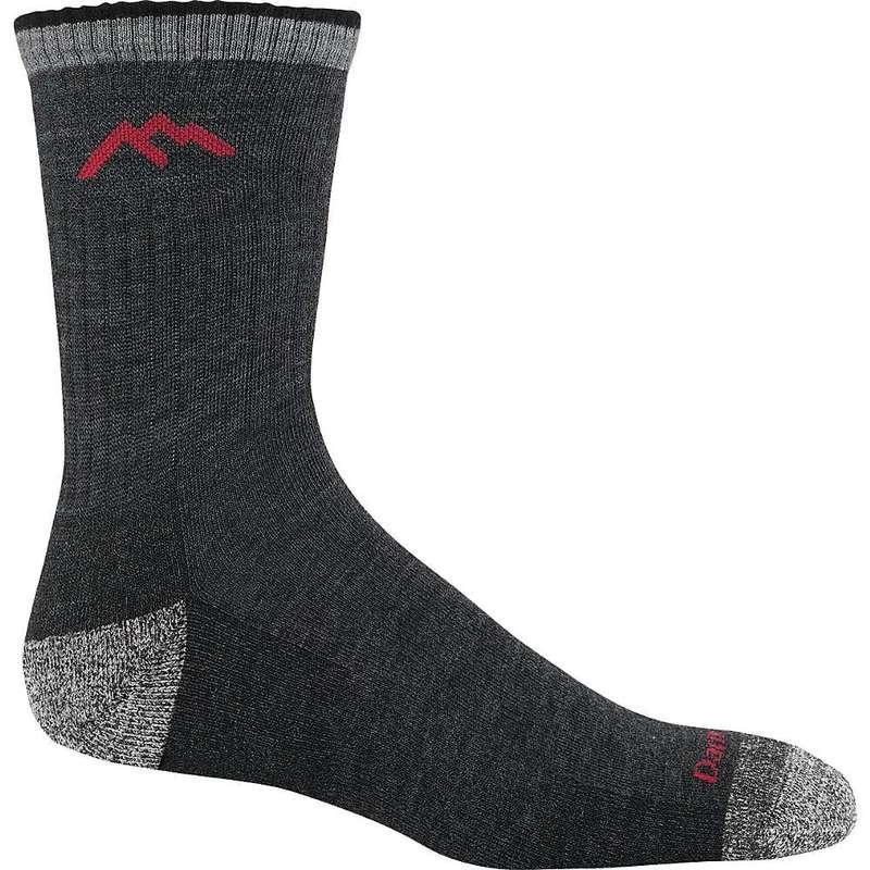 靴下・レッグウェア, 靴下  Darn Tough Mens Hiker Micro Crew Cushion Sock Black