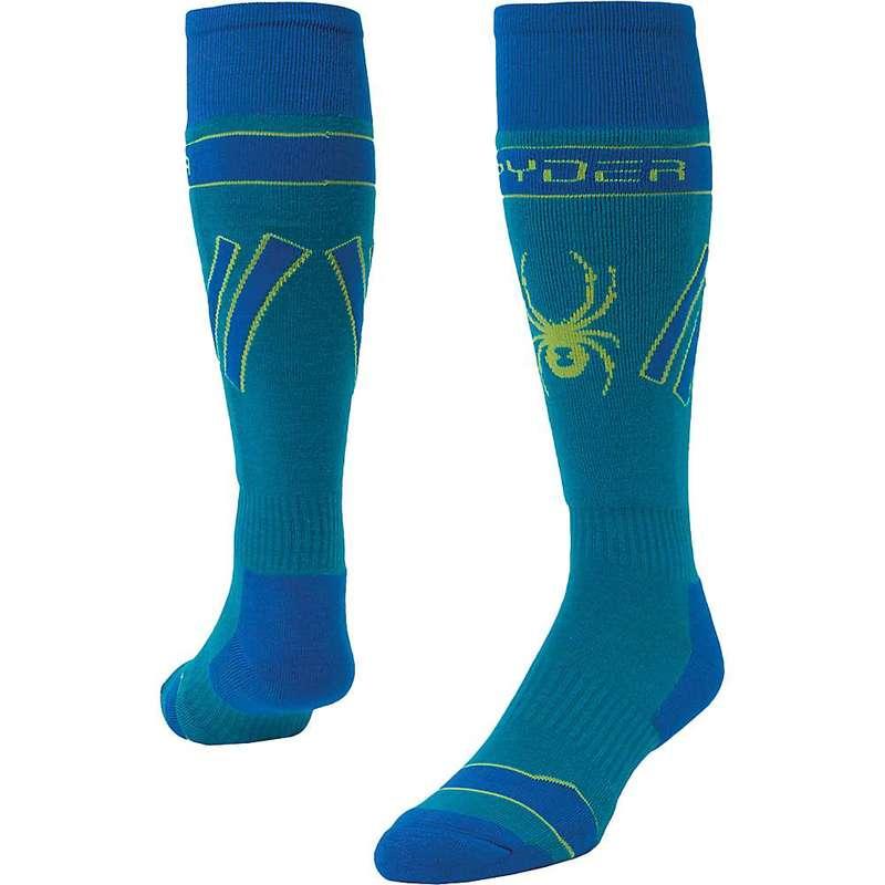 靴下・レッグウェア, 靴下  Spyder Mens Omega Comp Sock Lagoon