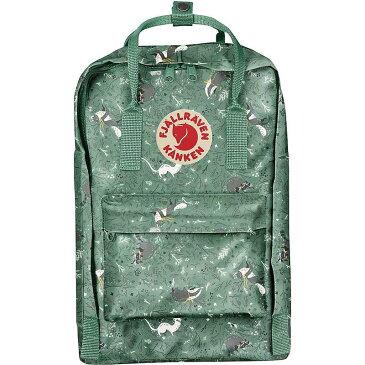 フェールラーベン メンズ バックパック・リュックサック バッグ Fjallraven Kanken Art Laptop Backpack Green Fable