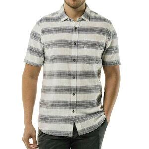 ジェレミア メンズ シャツ トップス Jeremiah Men's Douglas SS Crosshatch Twill Stripe Shirt Back Bay