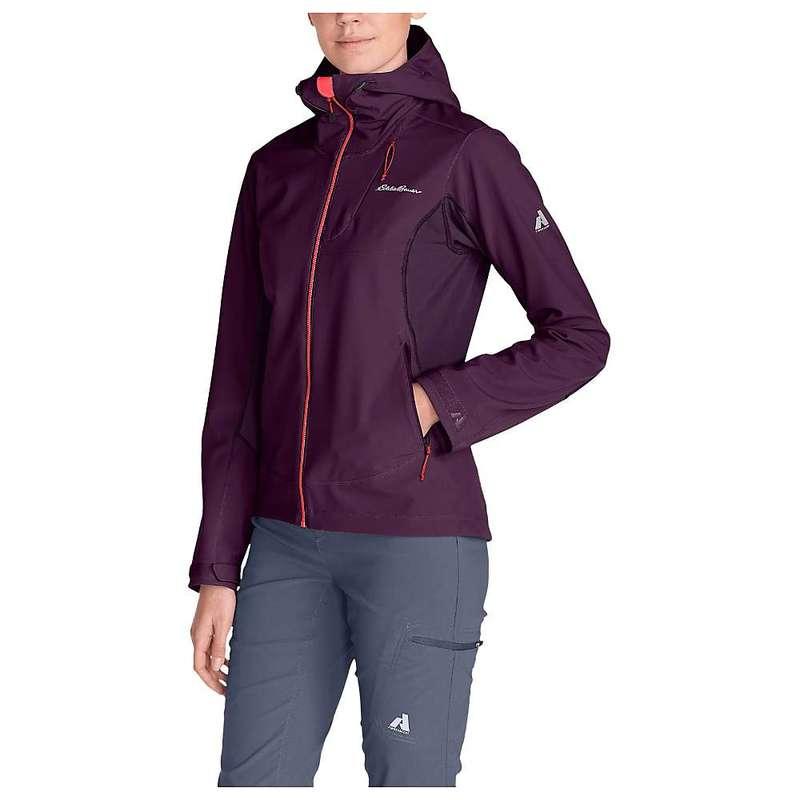レディースファッション, コート・ジャケット  Eddie Bauer First Ascent Womens Sandstone Shield Hooded Jacket Deep Eggplant
