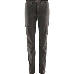 フェールラーベン レディース カジュアルパンツ ボトムス Fjallraven Women's High Coast Lite Trouser Dark Grey