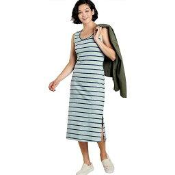 トードアンドコー レディース ワンピース トップス Toad & Co Women's Samba Paseo Midi Dress Blue Surf Wide Stripe