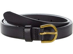 メイドウェル レディース ベルト アクセサリー Skinny Perfect Leather Belt True Black