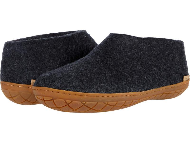 グリオプス メンズ サンダル シューズ Wool Shoe Rubber Outsole Charcoal/Honey画像