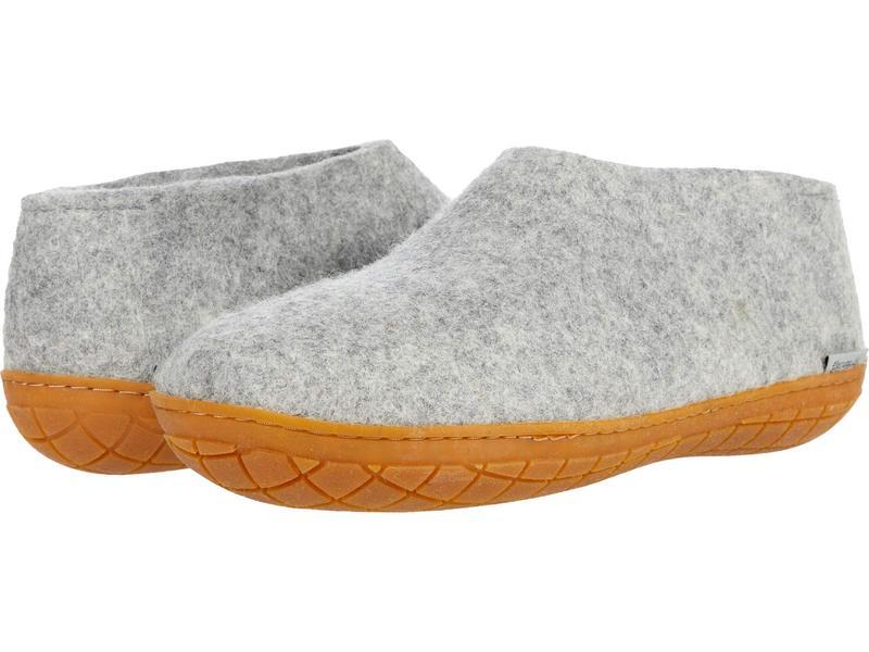 グリオプス メンズ サンダル シューズ Wool Shoe Rubber Outsole Grey/Honey Rubb画像