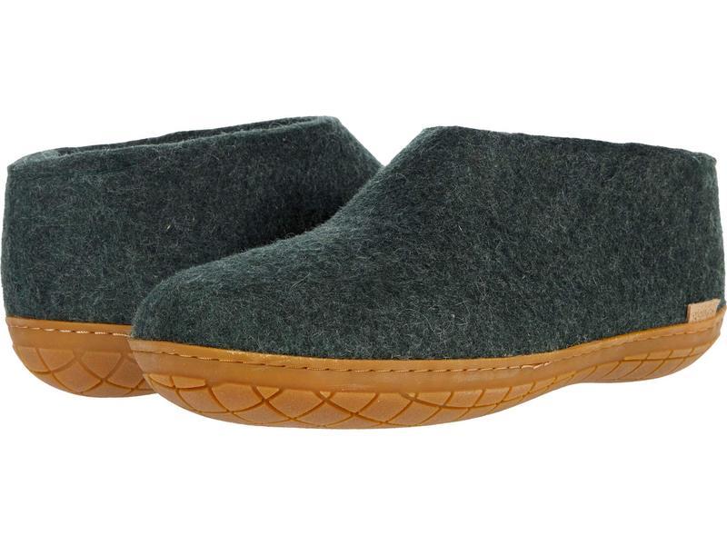 グリオプス メンズ サンダル シューズ Wool Shoe Rubber Outsole Forest/Honey Ru画像
